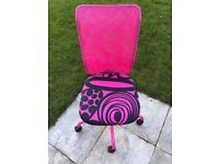 Ikea Torbjorn Pink/Black Office Chair