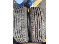 2x 195 60 15 tyres