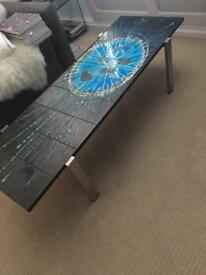 1960s retro coffee table