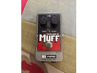 Electro Harmonix Double Muff effects pedal