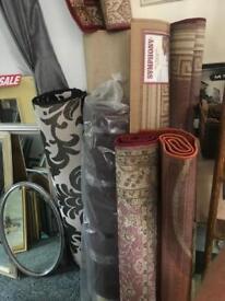 Various rugs modern and old / vintage