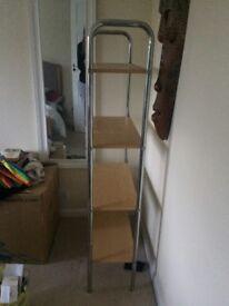 Standing shelves unit