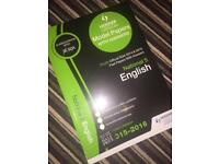 National 5 English passpapers