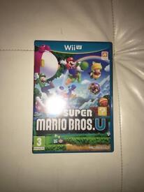 Super mario bros for Nintendo wii u