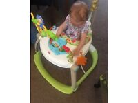 Fisher Price portable baby bouncer