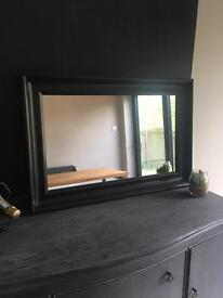 Ikea Hemnes Black-Brown Mirror