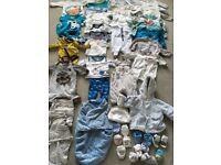 Baby Boy Clothes Bundle Newborn/0-3mths