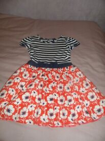 Girl's Summer Dresses Various Sizes Age 4-6 Years