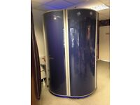 Sunbed ultrasun power tower 7200 stand up Sunbed