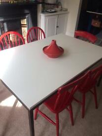 Design white table