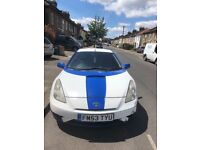 Toyota Celica Modified and Painted. Damaged front left hand side. Excellent drive