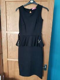Ladies peplum dress size 10