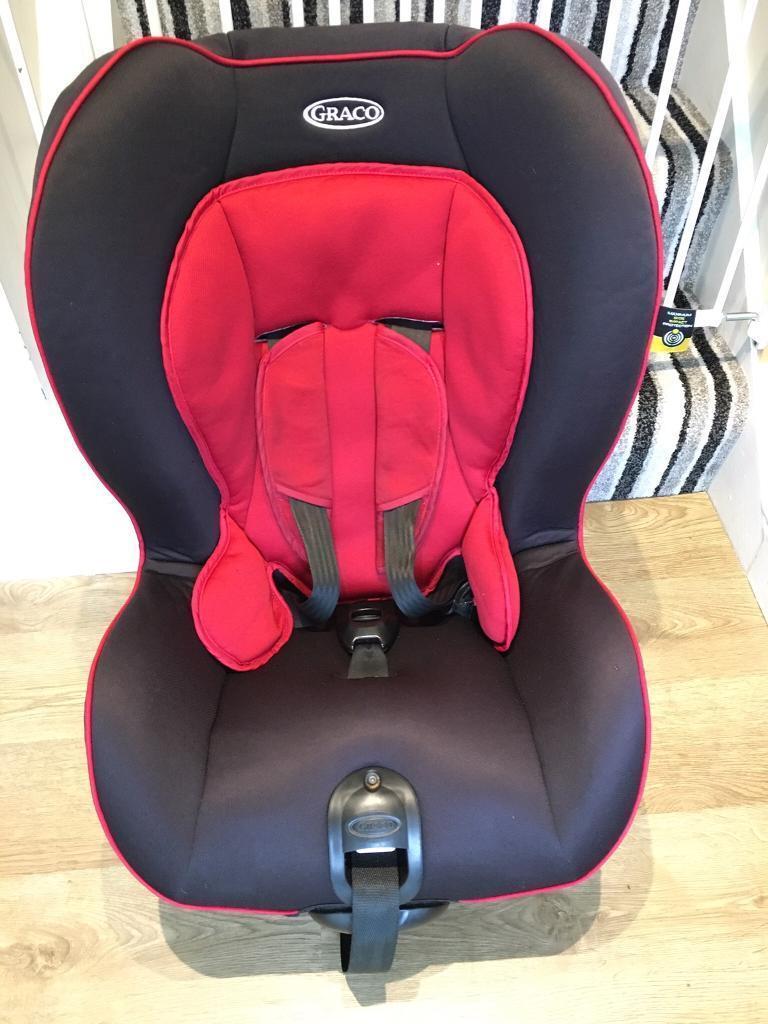 Graco Red Black Baby Toddler Child Car Seat