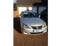 Lexus IS 220D 2.2 4Dr, Silver, 126000