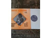 KATIE WEBSTER WHOOEE SWEET DADDY JAY MILLER SESSIONS BLUES NR MINT