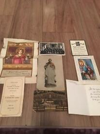 Antique religious/catholic/holy items