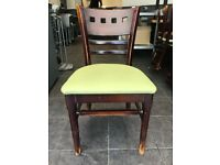 40 Solid wood cafe restaurant commercial chairs