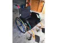 Alfred Bekker Self Propelled folding wheelchair