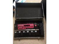 BOSS RC-300 triple pedal looper and sampler pedalboard