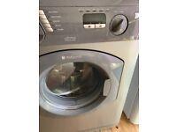 Hotpoint ultima 7kg washing machine grey. beko white. Both Faulty. Spares or repairs