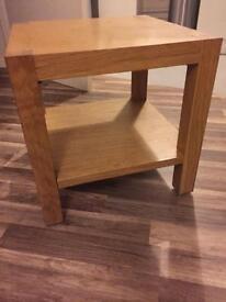 Oak Wood Side Table £10