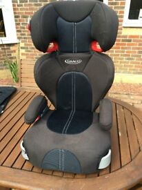 GRACO ECE R44/04 UNIVERSAL 15 - 36 kg group 2 3 booster car seat