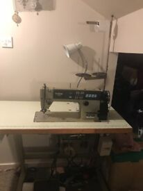 Brother Exedra Industrial Sewing machine E-40 Good Condition see description