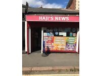 Newsagents for sale in Leicester city centre , leasehold