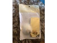 Brand new iPhone 6 case gold mirror with pompom