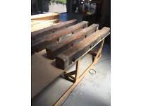4 Pitch Pine Beams