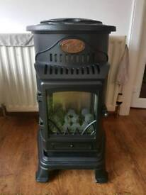 Indoor Gas Fire Provence