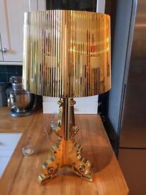 Gold Kartell Bourgie lamp light designer