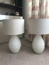 Debenhams table lamps