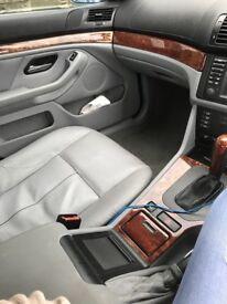 BMW e39 525d 2002 last edition of the e39