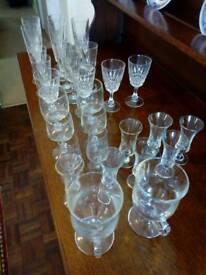 Box of 29 Mixed Glasses