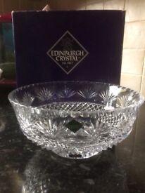 Edinburgh crystal fruit bowl