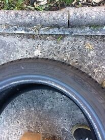*REDUCED* Dunlop SP Winter Tyres 205/50/17 4 tyres