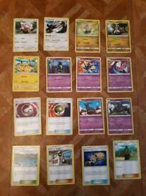 (Sun/moon and X/Y) pokemon cards