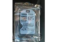 Brand New WD Black 500GB Hard Drive