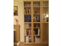 Billy Bookcase with doors - Excellent condition!