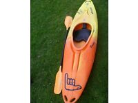 Pyranha TG Lite - great kayak, bargain £250