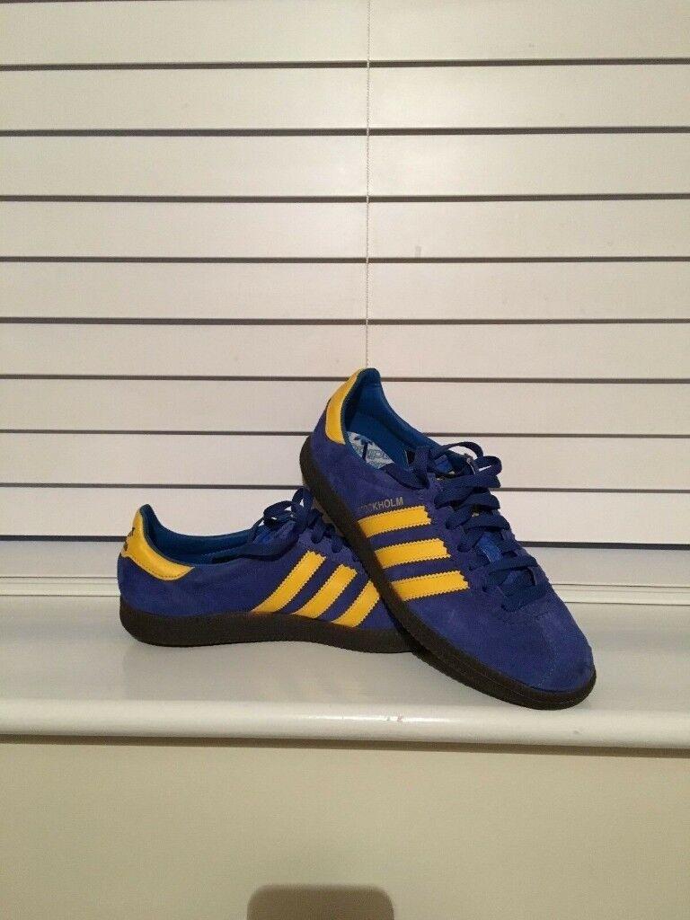 ce455eb74246bc Adidas Stockholm (2014) Rare Size UK 9.5