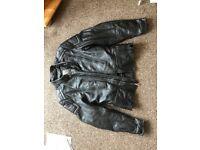 Hein Gericke Motorbike Leather Jacket Womens