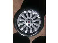 "Rover 25, 45 15"" Alloy Wheels 3 Tyres Need Replaced"