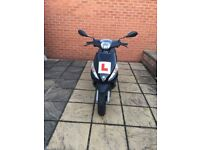 Moped for sale 50cc, 2016, from new, low milage, full recent service
