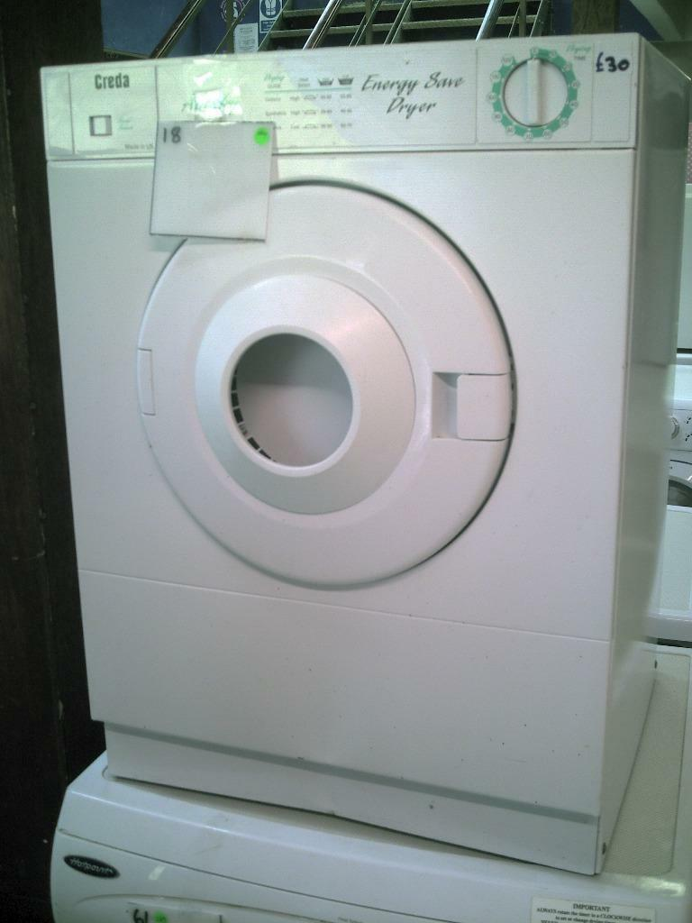 Person Tumble Dryer ~ Creda vented tumble dryer kg buy sale and trade ads