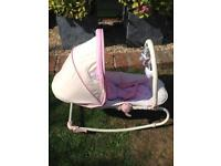 Baby Girl rocker pink suitable from birth