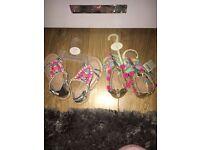 Girls monsoon sandals size 9 BNWT