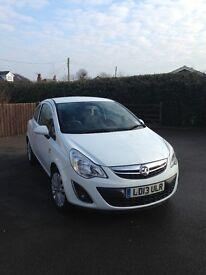Vauxhall Corsa 1.2 i Energy 3dr Bluetooth, AC, One lady owner