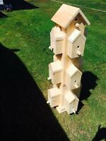 Birdhouse tower